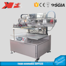 Flat bed non-woven silk screen printing machinery