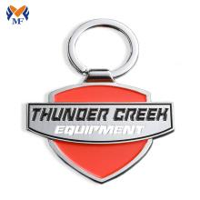 Metal custom engraved enamel key chain