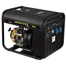 Се 8квт пластиковый Топливный бак инверторный бензиновый генератор (WH8800I)