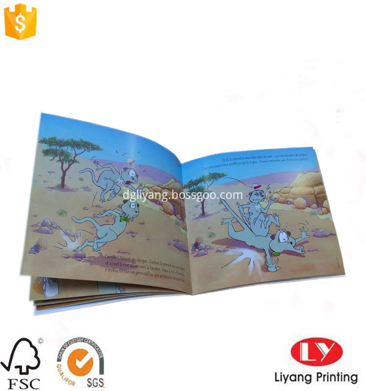 soft cover child book printing