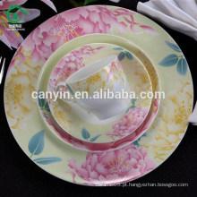 Promoção Colorido decalque cerâmica copos de café fabricante