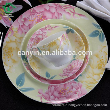 Promotion Colorful decal ceramic coffee cups manufacturer