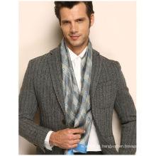 100% lenço de seda moda laço para os homens