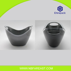Hot selling colorful popular small ice bucket