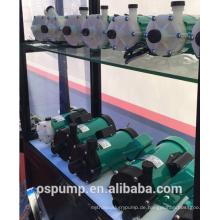 PP, PTFE oder PDVF korrosionsbeständige Magnetpumpe für Batterieflüssigkeit, Wasser, Getränk, Salzwasser, Saft, Säure und Lauge