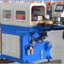Máquina de perfuração de tubo de metal redonda semi-automática