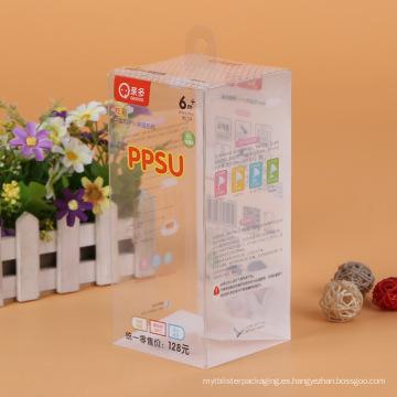 China fabricante respetuoso del medio ambiente cajas plásticas para enfermería (caja PVC)