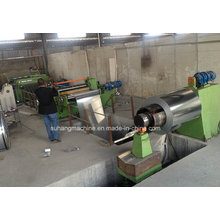 1-3mm Thickness 1300mm Width Metal Coil Simple Hydraulic Power Slitting Line