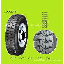 Annaite Pattern 386 Radial Truck Tire (9.00R20, 8.25R20, 7.50R16)