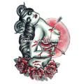 Yincai OEM, temporária etiqueta de tatuagem efêmera para ahorning