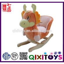 Cavalo de balanço de unicórnio de pelúcia cavalo personalizado