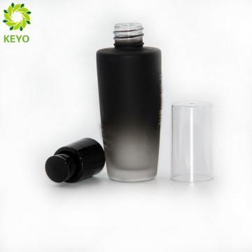 Top selling personalized soap foam pump perfume black custom box gradient glass cosmetic bottle