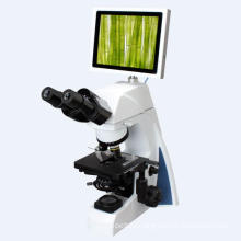 100X Objectives Professional Microscope with Compensation Free