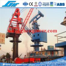 30t @ 15m ferroviário montado Mobile Port Crane