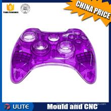 Пользовательские ABS PP PE Нейлон Пластиковые инъекционные формованные продукты игровой контроллер и пластиковые детали для детских игрушек