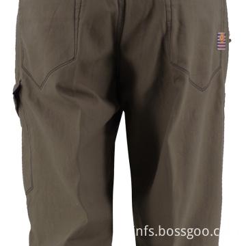 Men's Close Fitting Long Trousers