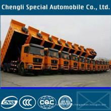 40cbm U tipo pesado Volquete camión pesado de camiones
