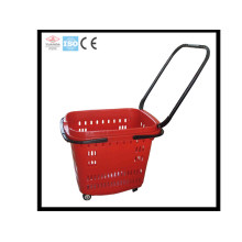 Supermarket Plastic Shopping Cart (YD-Z12)