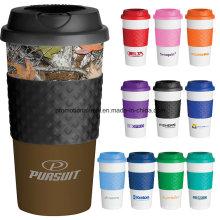 Klassische Plastikkaffeetasse
