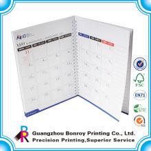Самый дешевый ежемесячный поставщика Гуанчжоу блокнот с календарем