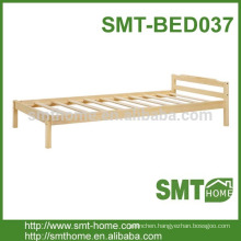 simple modern wood single cot bed
