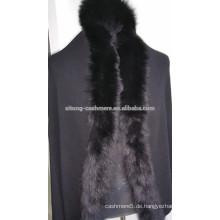Kaschmir-Schal mit Fuchs