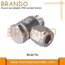 Male Banjo Brass Pneumatic Compression Ferrule Tube Fittings