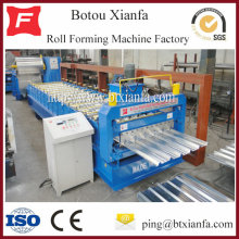 Factory directly supply for China Trapezoidal Roll Forming Machine,Trapezoidal Tile Roll Forming Machine for Sale Aluminium  Sheets IBR Roll Forming Machine export to Vanuatu Manufacturers