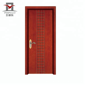 2018 new china solid wooden door wood apartment and bedroom door