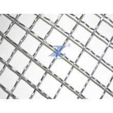 Rede de arame quadrada de aço Stainess (fábrica)