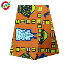 100% cotton real African wax fabric