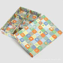 Department Box Pack Socks & underdress impressão de papel de embalagem caixas