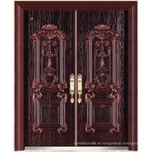 Ferro exterior da segurança da porta de China da porta com a porta do alumínio de molde (EP001)