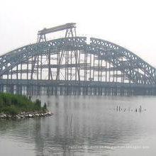 Fábrica de fornecimento de fabricação profissional Estrutura de aço Ponte