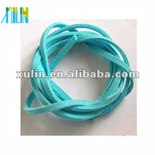 flat suede cord, for jewelry sky blue faux suede cord SJW014
