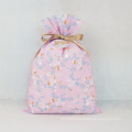 Pink Non-woven Easter Gift Bags With Tags
