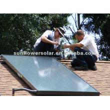 Panel térmico solar doméstico de tubería de calor