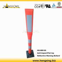 WB105 white Plastic spring bollard
