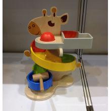 Boule de punch en bois 2 en 1 et voiture de course pour enfants et enfants