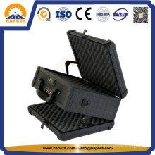 Dupla face Handgun pistola alumínio caso (HG-1201)