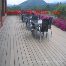 Decking composto de madeira exterior de engenharia WPC