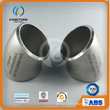 Soldadura a tope de acero inoxidable Montaje de tubería de codo 45D con Ce (KT0240)