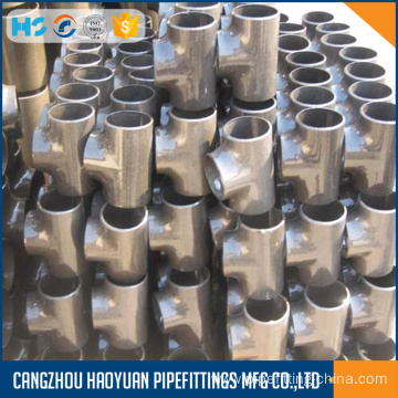 Top for Stainless Steel Pipe Fittings ANSI B16.9 Welding Reducing Tee supply to Colombia Suppliers