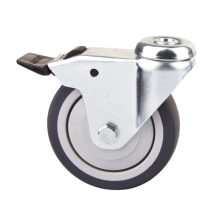 100mm TPR Light Duty Caster with Brake