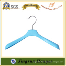 Metall Haken blau Kunststoff Kleiderbügel für Mantel