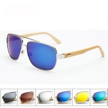 FQ marque personnalisée bois fait main meilleurs hommes polarisés lunettes de soleil en bois design