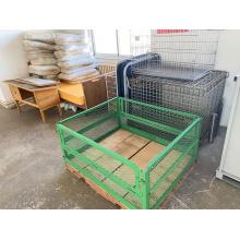 Movable Storage Cage Folding Iron Box