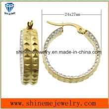 Shineme Jóias de moda em aço inoxidável jóias com corpo jóias (ERS6969)