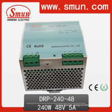 240W 12V/24V/36V/48V Single Output DIN Rail Pfc Switching Power Supply
