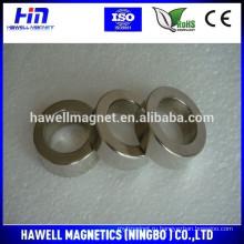 Осевые кольцевые неодимовые магниты N35